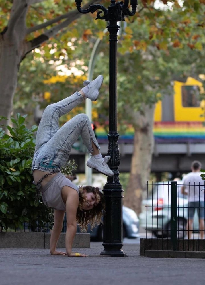 Kaya Zakrzewska teaches regularly at Pole Flow Berlin and is one of our core team members.